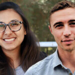 Sonni Waknin '20 (left) and Michael Cohen '21 are UCLA Voting Rights Project fellows.