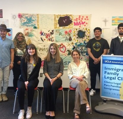 UCLA Law's Immigrant Family Legal Clinic